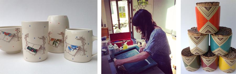 Screenprinting Decals On Ceramics Cathy Terepocki June 22nd